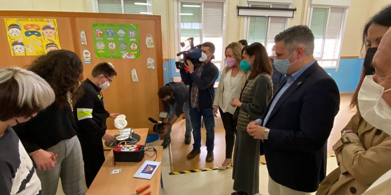 La Junta introduce la inteligencia artificial, el diseño 3D y la realidad aumentada en las aulas de Jaén