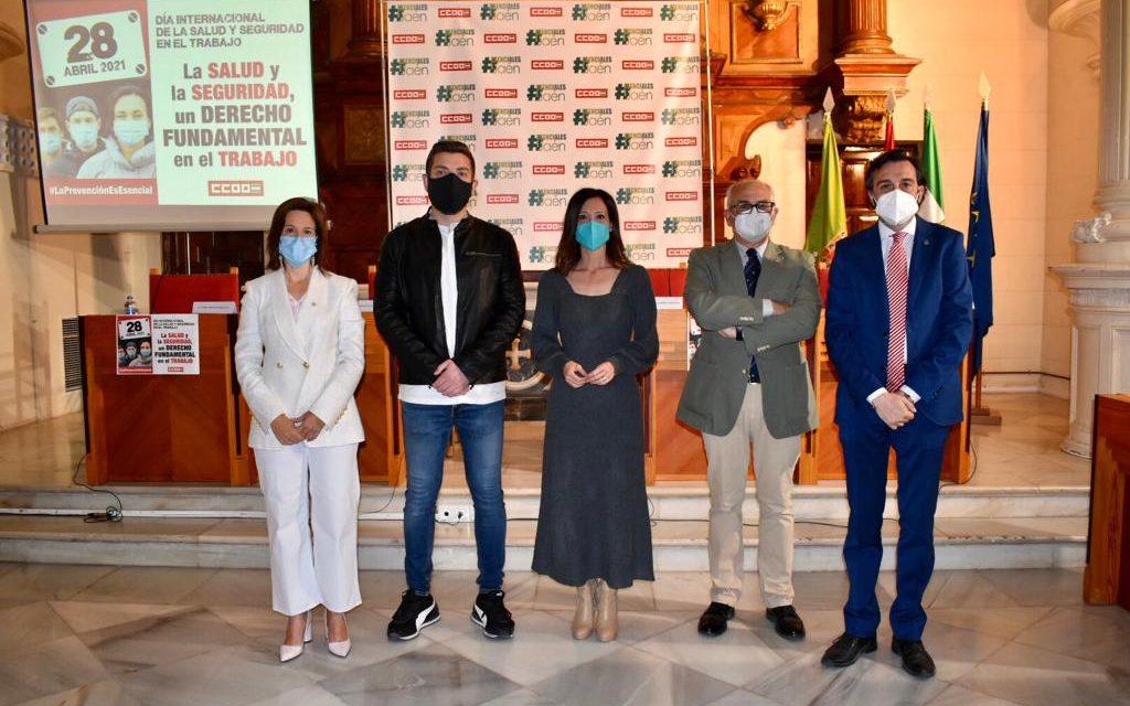 La Junta destaca el esfuerzo de los trabajadores esenciales en el Día de la Seguridad Laboral