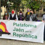 Jaén por la República aplaza la concentración prevista para el 18 de abril, por el confinamiento perimetral en Linares