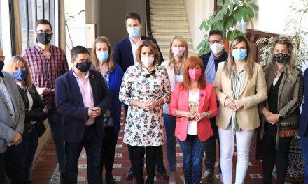 Díaz pide en Úbeda más sensibilidad a la Junta con la vacunación y que abra los centros de salud