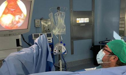 La Unidad de Ginecología del Hospital de Úbeda potencia la cirugía endoscópica