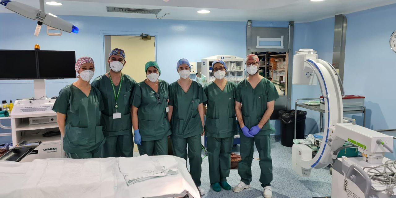 El Hospital de Úbeda utiliza la artroscopia para recuperar el hombro a un paciente