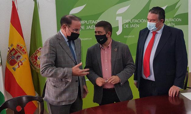 Los presidentes de la Diputación y la CEA muestran su disposición a seguir colaborando para que Jaén progrese