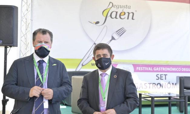 EXPOLIVA | Los productos de Degusta Jaén protagonizan la zona gastronómica de Expoliva 2021